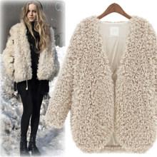 2015 otoño último Lady Cardigan Women Woolen Coat (50174)