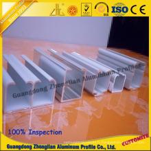 Profil en aluminium pour le rail en aluminium de rail de garde-robe