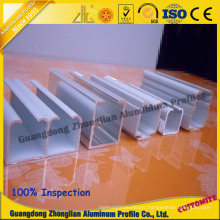 Aluminum Profile for Wardrobe Rail Aluminum Rail