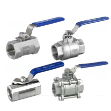 Competitive Price  Stainless Steel Thread 1000 wog small Ball Valve