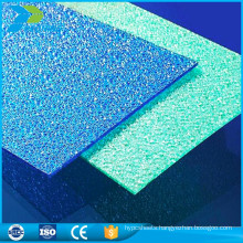 Super soundproofing scrubs balcony cover greenhouse frosted roofing materials plastic sheet