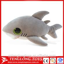 Juguete de peluche de tiburón peluche lindo de animales de mar