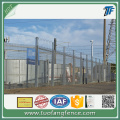 Hot dipped galvanized 358 Mesh Fencing Panels