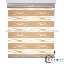 Day and night sunscreen fabric zebra roller blinds