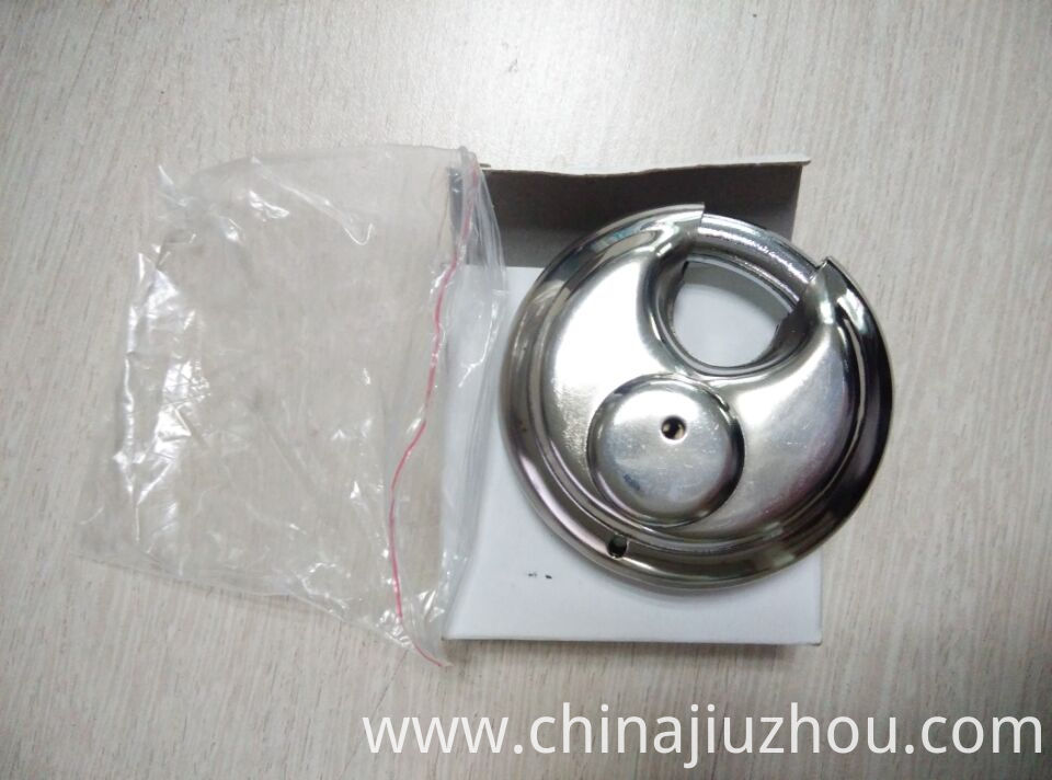 Disc Shape Padlock