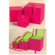 Красная площадь Подарочный бумажный ящик верхней крышки с закрывающейся крышкой