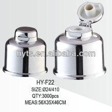 Tapa superior de aluminio 24/410