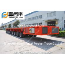 Self propelled modular trailer