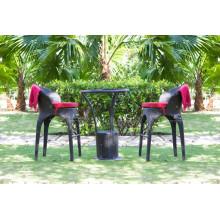 Exklusive Design Polyethylen Rattan Bar Sets Für Outdoor Garten Wicker Möbel