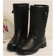 Зима дети дети девушка колено высокие длинные ботинки обувь