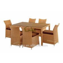 Dining room set specific use Rattan/ Wicker material dining table set