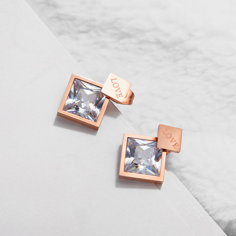 Square Shaped Earrings