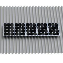 Мощность Солнечной Панели Профнастил Фиброцементных Системы Держателя Крыши Солнечной Установки Крыши