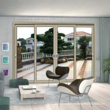 Porte coulissante extérieure en aluminium au plafond avec épaisseur de 1,4 mm (FT-D80)