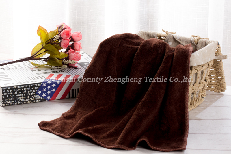 Weft Knitting Microfiber Towel-009