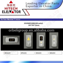 Hairlines stainless steel elevator arrival lantern/mounted type with floor indicator