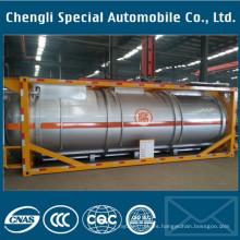 Tanque contenedor ASME ISO Tanque contenedor para gas líquido