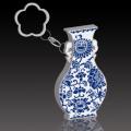 Blue and white porcelain U disk