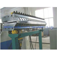 Conical Twin Screw Plastic Extruder , WPC Board Production