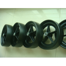 PU Foam Wheel for Golf Cart (wheel size: 254X70mm)