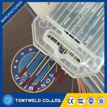 El mejor precio 2.0 * 150 Electrodo de tungsteno Thoriated Electrodos de Tungsteno de Soldadura Roja Tig