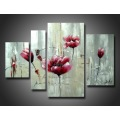 Wholesale Produced Colorful Handmade Flower Art Oil Painting