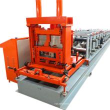 c marco de acero ligero punzonado c sección purline rodillo en frío que forma la máquina