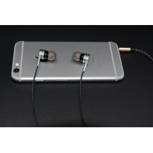 Wired Earbuds In-Ear Metal Stereo Bass Headphones para Apple