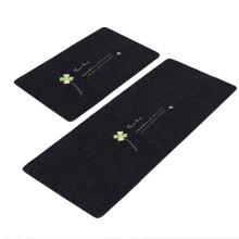 Best selling embroid mats design moderno