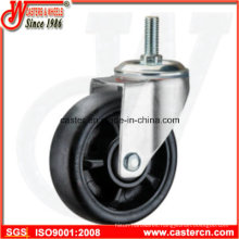5 Inch Threaded Stem Nylon Swivel Caster