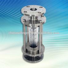Fluxômetro do tubo de vidro / rotâmetro do medidor de fluxo do flutuador, medidor de fluxo do flutuador