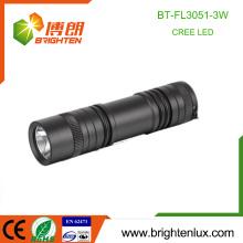 Factory Supply 3 * AAA Batterie en aluminium 180 lumen Long Beam Portable 3W Cree XPE à LED High Power Torch