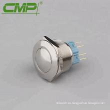 Interruptor de control marino de 28 mm (1NO1NC, reinicio)