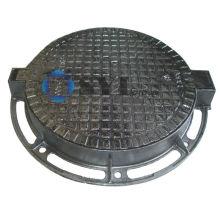 Cast Iron Manhole Cover with Hinge- SYI Foundry