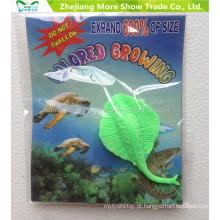 Os animais crescentes do oceano dos brinquedos da água do fornecedor da fábrica expandem brinquedos