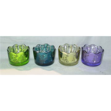 Wedding Decorative Glass Tealight Candle Cup