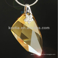 Wholesale charming original Austrian crystal element pendant jewelry