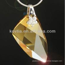 Atacado charmoso original cristal austríaco jóias pingente elemento