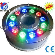 12W RGB LED Underwater Light, Pool Light IP68