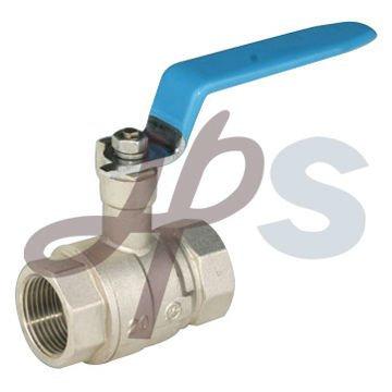 nickel plated plumbing ball valve