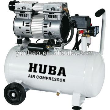 Compresseur d'air dentaire sans huile à faible bruit LD-55024