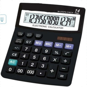 14 Digits Office Financial Desktop Calculator