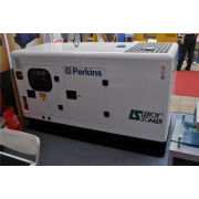 Super Silent 10 Kva Perkins Diesel Generator With 403d-11g Engine , Three Phase And Four Wire
