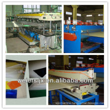 500kg/h ce certificate pp hollow sheet production line