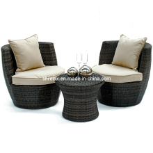 Garden Wicker Bistro Set Outdoor Rattan Patio Furniture