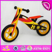 Juguete de madera 2014 de la bicicleta para los niños, juguete de madera de la bici de la balanza para los niños, bici de madera, bicicleta de madera, fábrica determinada W16c082 de la bici
