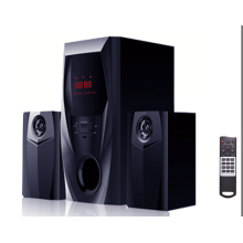 2.1 powerful multimedia speaker with USB SD FM