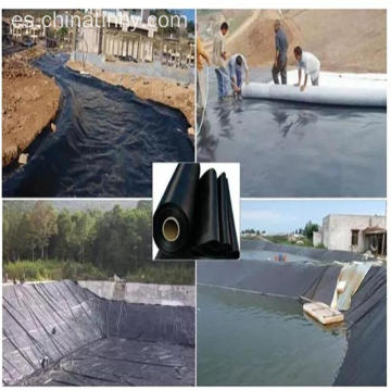 Excelente calidad impermeable HDPE Geomembrane liner liner