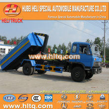 DONGFENG 10 cbm 4X2 190hp pulling arm garbage truck best price hot sale in China