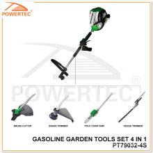 Powertec 4 tempos 4 em 1 conjunto de ferramentas de jardim (PT79032-4S)